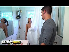 BANGBROS - Layla London Fucks Her Brother After Getting Caught Playing With Herself