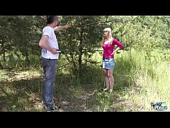 Worst public experience ever with cute blonde teen