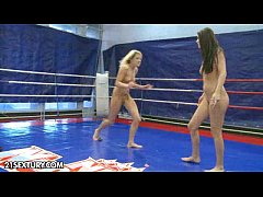 Nude Fight Club presents Larah vs. Diana Stewart