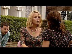 Eastenders; Janine Kisses Stacey Like a Lesbian
