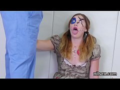 Clip sex Sexy nympho was brought in anal hole asylum for harsh therapy