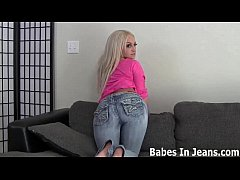 My tight jean shorts will make you nice and horny JOI