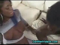 Black Pussy Fucked with Swallow