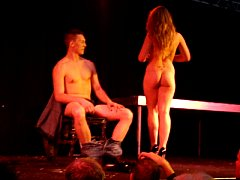 Baaby Jess - Strip to nude show - Eropolis Nice France 2013-02-10
