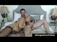 Clip sex Blonde Angel Allwood Gets A Huge French Cock By Alex Legend!