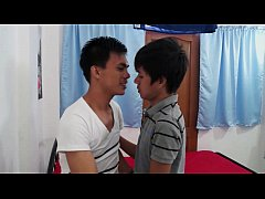 Asian Twink Boyfriends Barebacking Fuck Fest