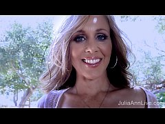Superstar MILF Julia Ann Shows Off Her Amazing Body