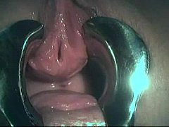 BDSM. Fingering girl's urethra