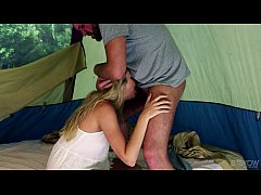 Jessie Andrews Assfucked In A Tent