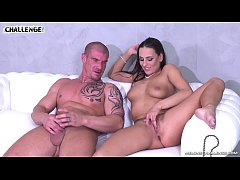Horny muscle newcomer failed with hot pornstar Mea Melone