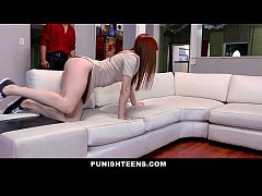 PunishTeens - Hot Teen Fucked By Masters Cock