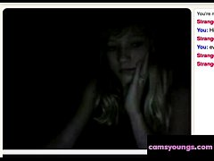 Small Teen Tits in the Dark, Free Amateur Porn 68:
