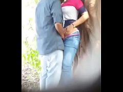 Indian Hot Big cock loving sex in outside