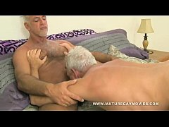 Two Hot Silverdaddies Fucking Each Other