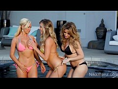 Nikki Benz Gets It On With Babes Angela & Samantha!