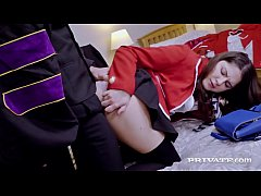 Private.com - College Girl Francesca Di Caprio Anal Banged!