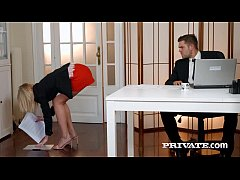 Private.com - Aria Logan Sucks Her Boss's Hard Cock