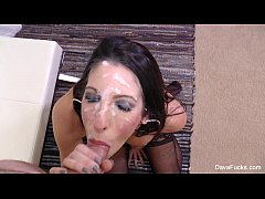 Dav Foxx Gets A A Huge Facial