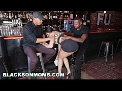HD BLACKSONMOMS - Tag Teaming A Hot MILF Bartender (xa15201)