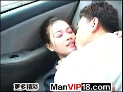 chinese fuck in car