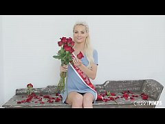 Petite Blonde Babe Elsa Jean is Crowned Cherry of the Year