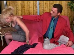 Hot French mom fucked hard by a young stud