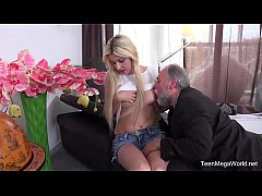 Old-n-Young.com - Furia - Blondie follows her old teacher