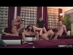 MMV FILMS Homemade German Orgy