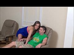 Step Sister is Horny and Wants not Her Step Brother - more at www.MyFapTime.com