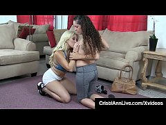 Clip sex Nympho Cristi Ann & Victoria Monet Grind Their Pussies!