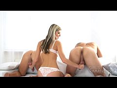GIRLRIMMING - Sex And Rimming with Gina Gerson threesome anal