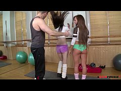 Bella Baby & Timea Bela - Crotch Muscle Workout