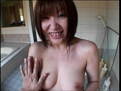 Asian bathroom fuck