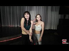 GIRLS GONE WILD - Center Stage Fun with Two Young Lesbian Teen Amateurs