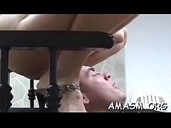 Appealing women enduring femdom action in home clip scene