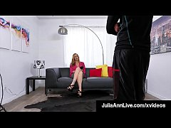 Magnificent Milf Julia Ann doesn't get on her knees unless she really wants to suck some dick & boy does she - right up until she gets a load of cum! Full Video & Julia Live @ JuliaAnnLive.com!