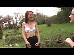 sdSkinny young amateur french brunette hard banged and hard sodomized