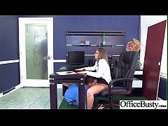 (Layla London) Office Slut Girl With Big Melon Tits Like Sex clip-18