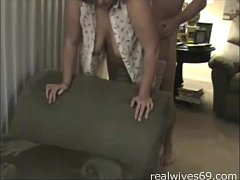 Mature Married Wife Bends Down for Doggystyle Sex on Realwives69.com