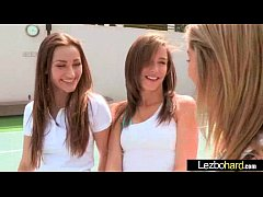 (Dani Daniels & Malena Morgan & Lia Lor) Teen Hot Lesbians Girls Play In front Of Cam vid-15