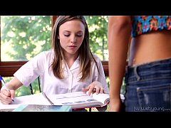 Hot Students Layla Sin and Aubrey Star