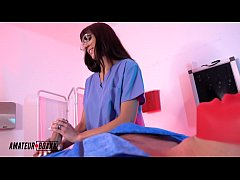 AmateurBoxxx - Psycho Nurse Dana Wolf Medical Handjob