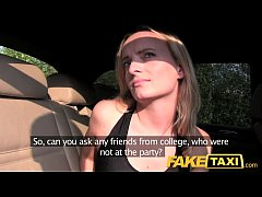 HD Fake Taxi Creampie ride for a cheerleader