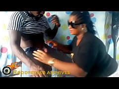 Hot south African BBW hair stylist banged in her shop part 2