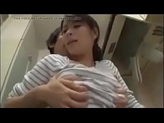 Japanese Asian Mom Cheating with her Young Son