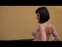 Big boobed french milf in lingerie hard analyze...