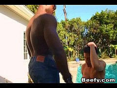 Beefy Gay Teaching How to Fuck by Black Dude
