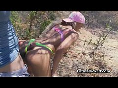 Assy bigtit gf fucks on hiking trip