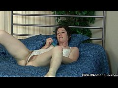 Hairy milfs Artemisia and Inge put their dildo to good use