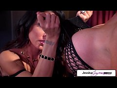 Jessica Jaymes & Nikki Benz fuck each other, big booty & big boobs